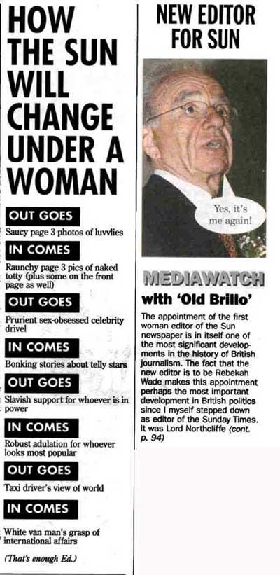 Murdoch, we love to loathe you