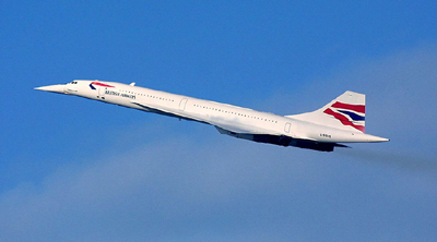 six more days until we fly, six more months for Concorde