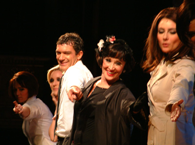 Antonio Banderas and Chita Rivera take a bow