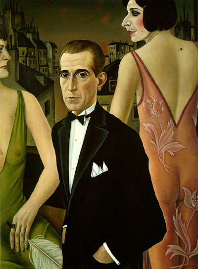 portrait by Christian Schad